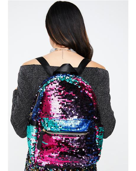 To Infinity Sequin Backpack