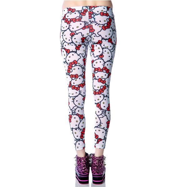 Japan L.A. Hello Kitty Classic Leggings