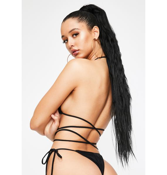 Poster Grl Love Me Or Leave Me Triangle Bikini Set