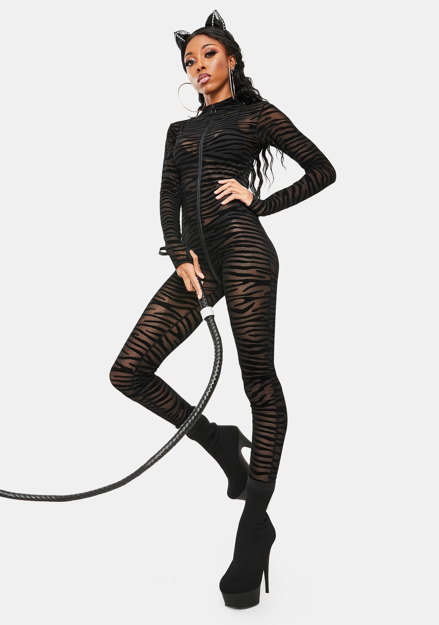 Dolls Kill My Favorite Pattern Zebra Costume