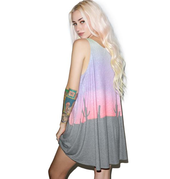 Wildfox Couture Lone Wolf Cassidy Tank Dress