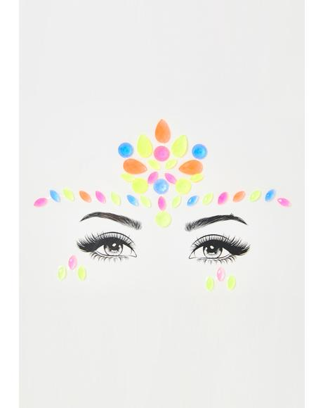 Nova Neon Face Gems