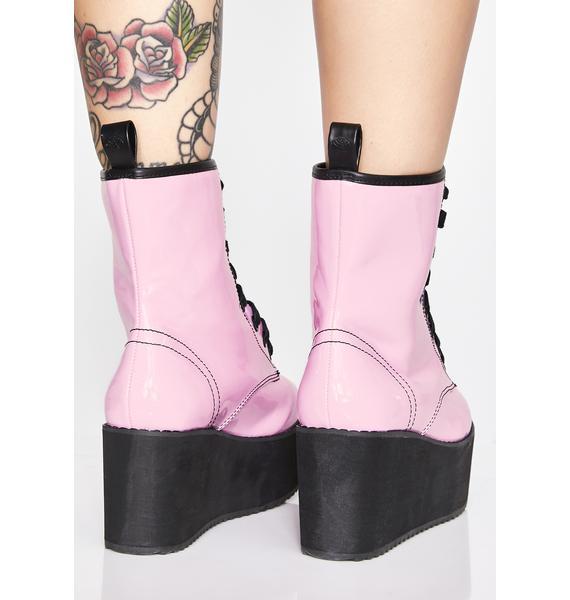 Strange Cvlt Sweet Stomp Hi Patent Boots