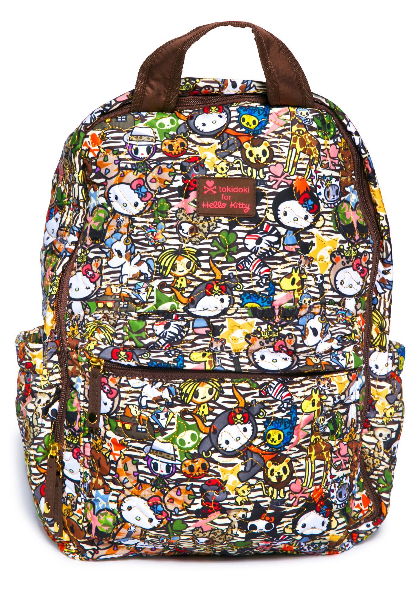 Sanrio Tokidoki X Hello Kitty Summer Safari Backpack