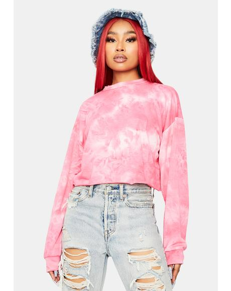 Ultimate Crush Tie Dye Crewneck Sweatshirt