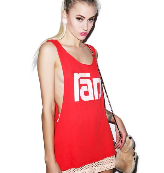 Wildfox Couture Radical Cut Off Tank