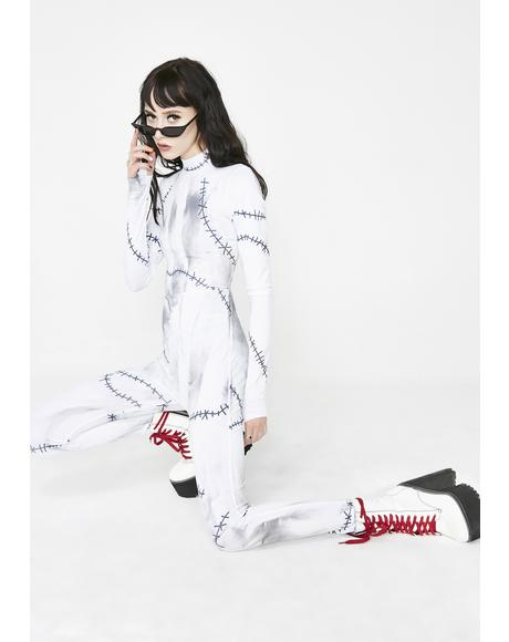 Fame Monster Catsuit Costume