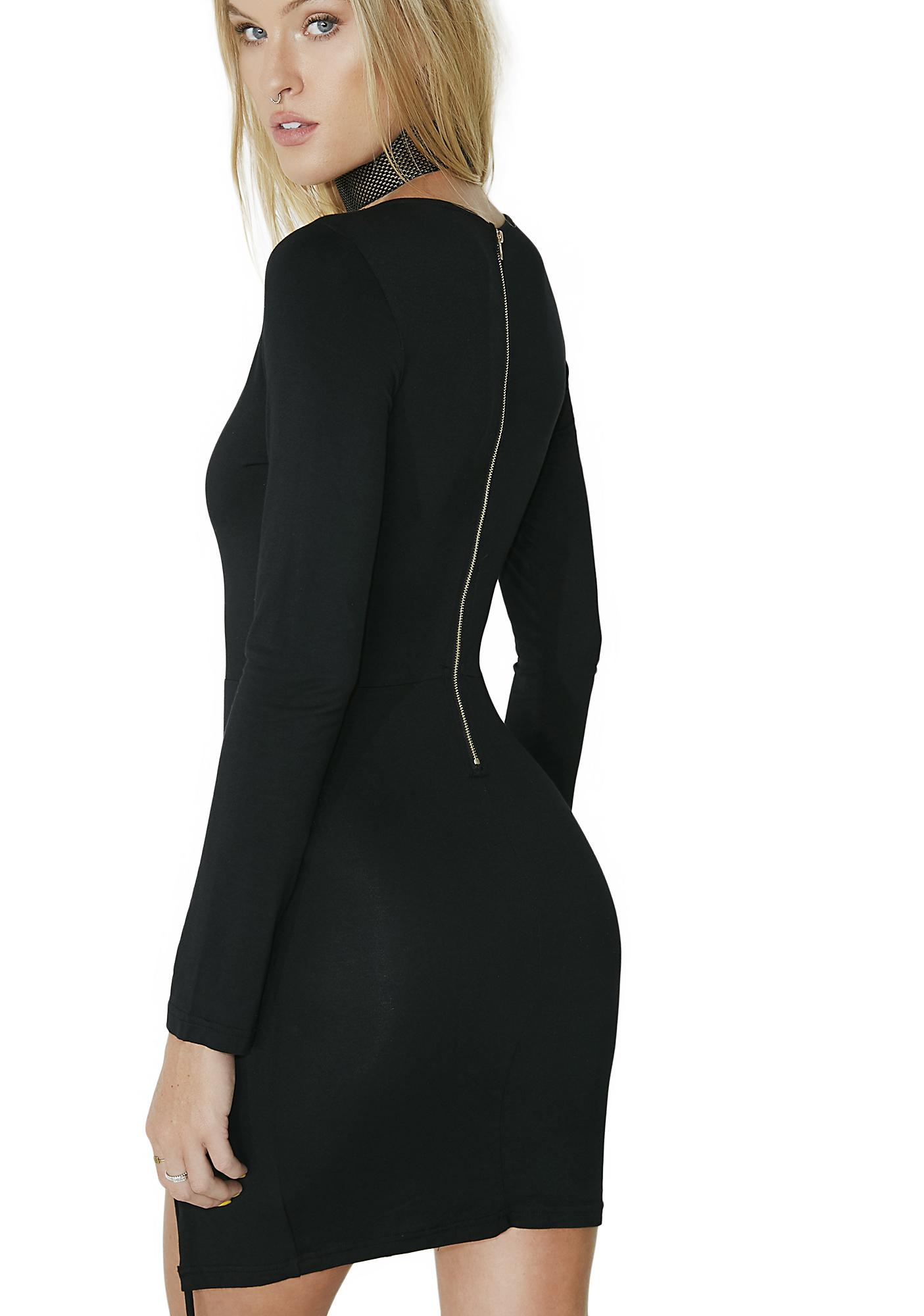 Sister Salem Lace-Up Dress