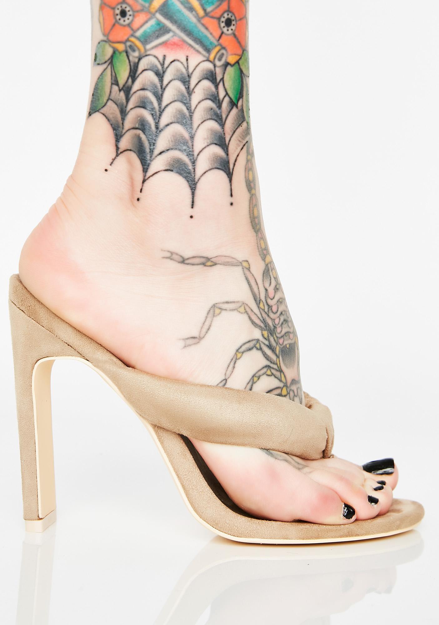 WTP Thong Heels