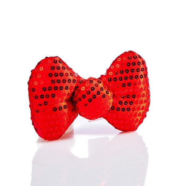 Purrty Kitty Bow Clip