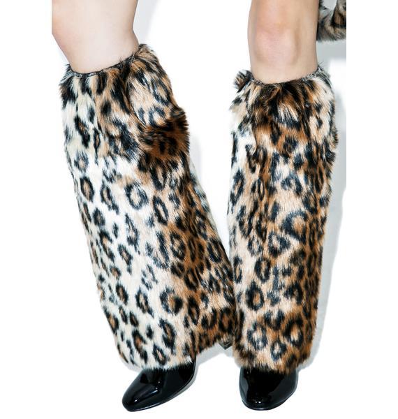 J Valentine Wildcat Legwarmers