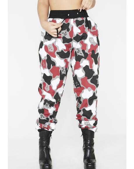 Fire Nermal Camo Sweat Pants