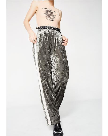 Lounge Fly Velvet Pants