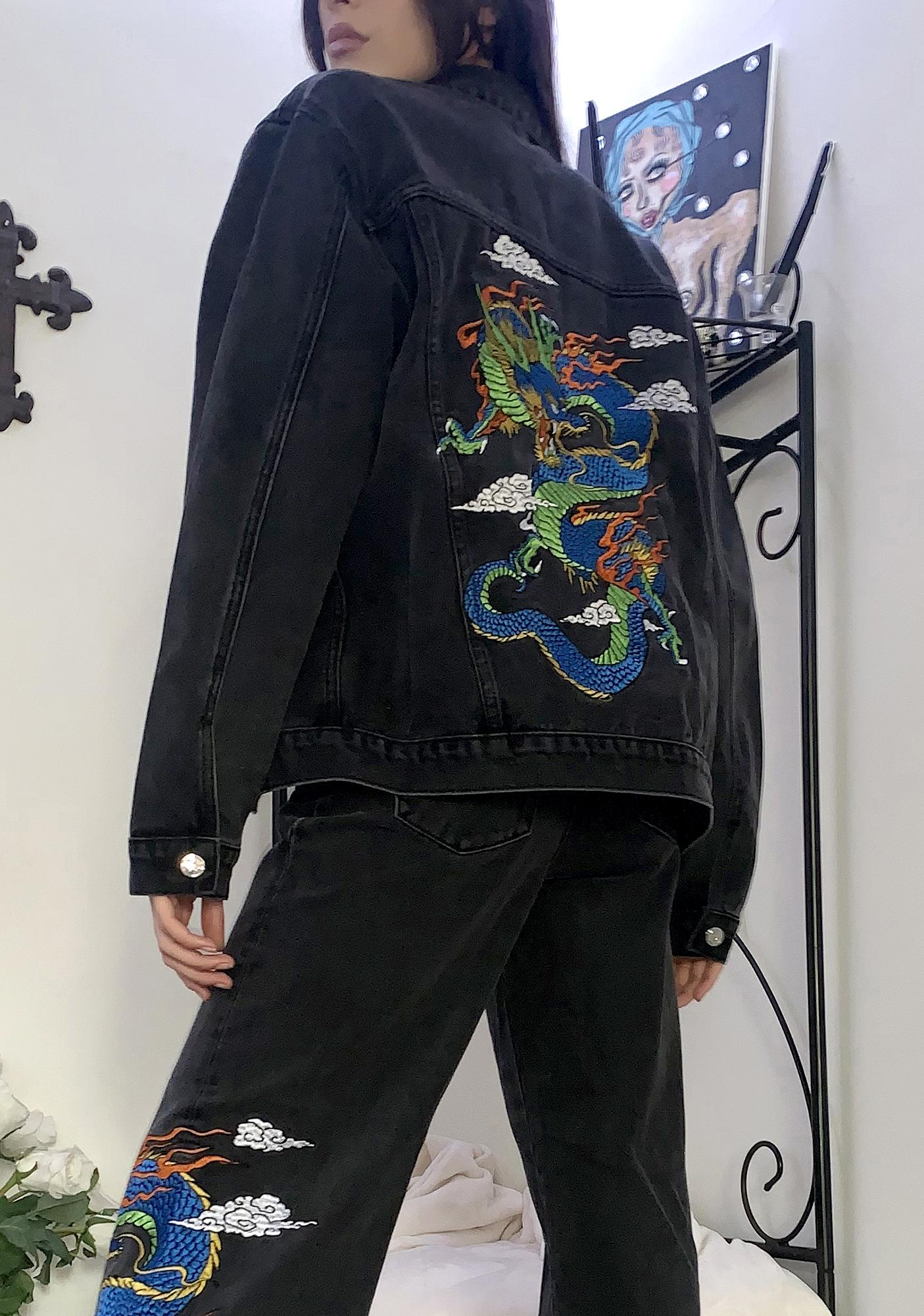Current Mood Guardian's Creed Denim Jacket