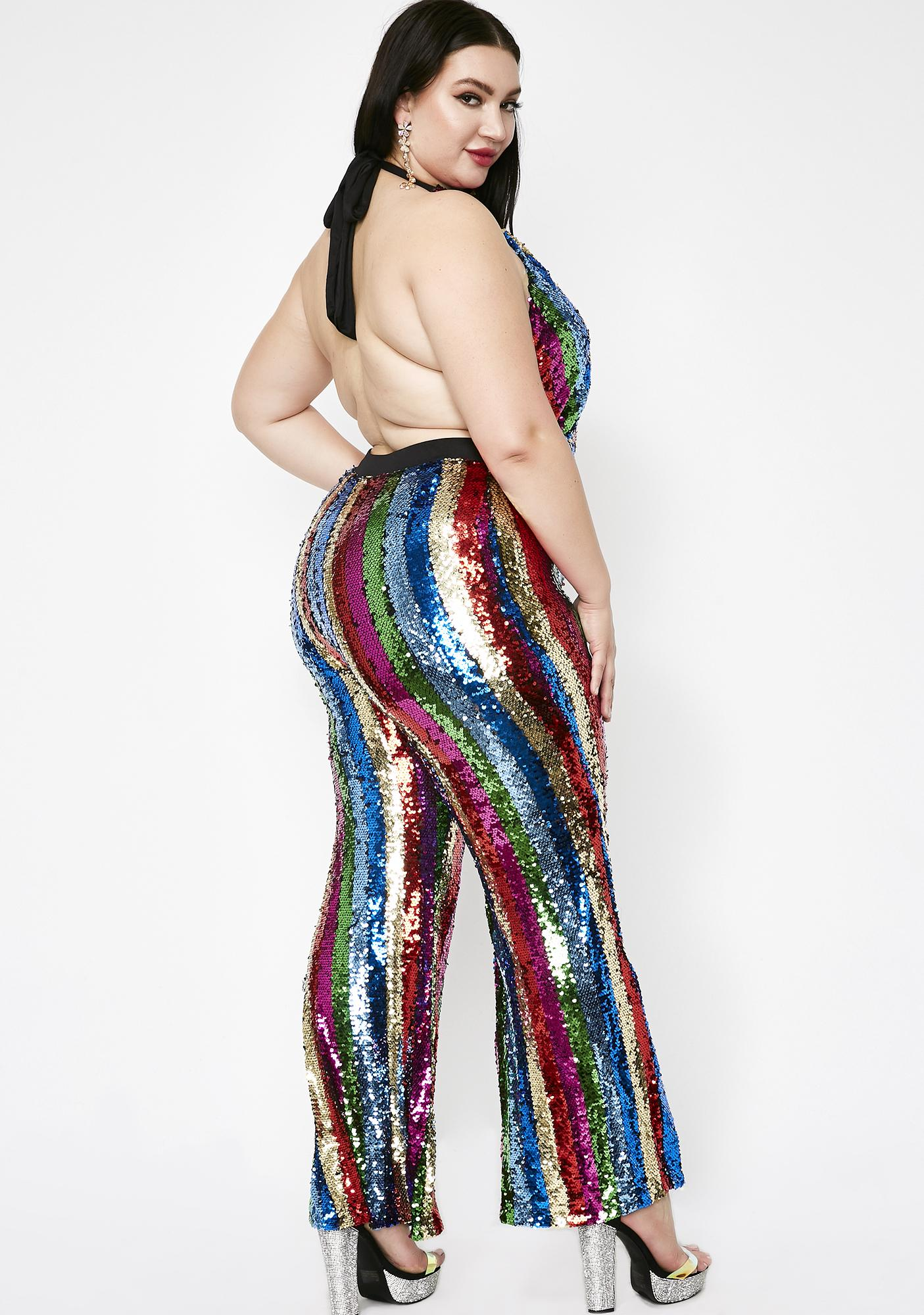Fashion Mania Sequin Jumpsuit