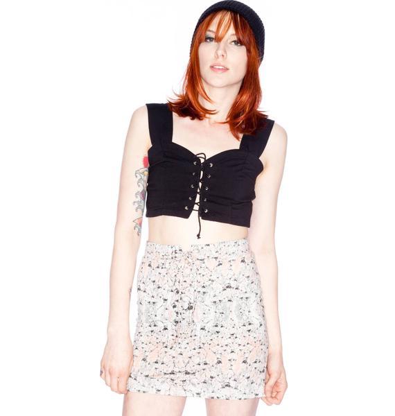 Somedays Lovin ' Midnight Dies Bodycon Skirt
