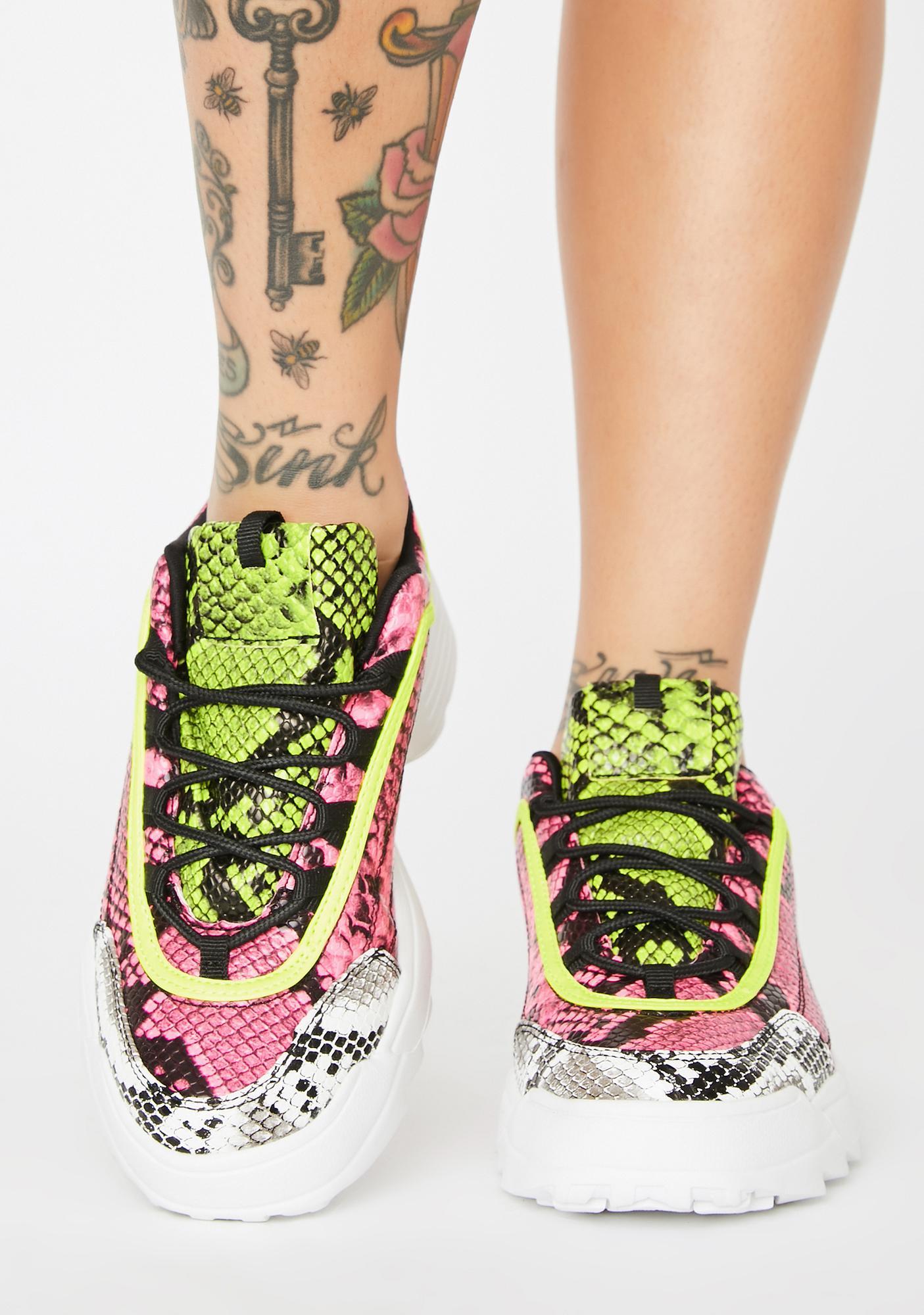 Sneak Freak Platform Sneakers