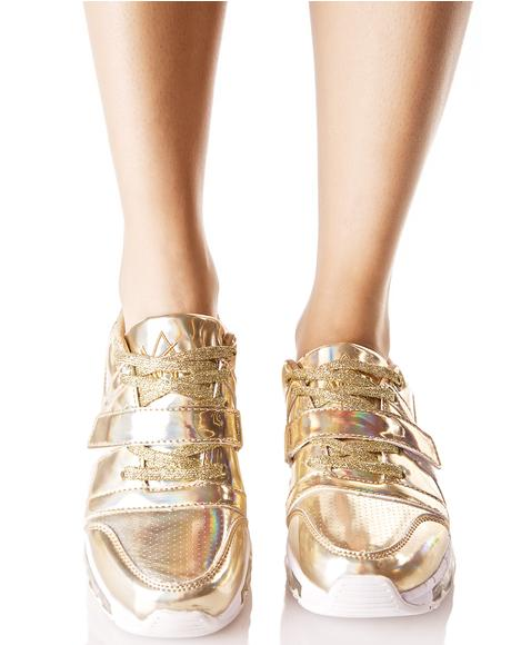 Golden Aiire Light-Up Sneakers