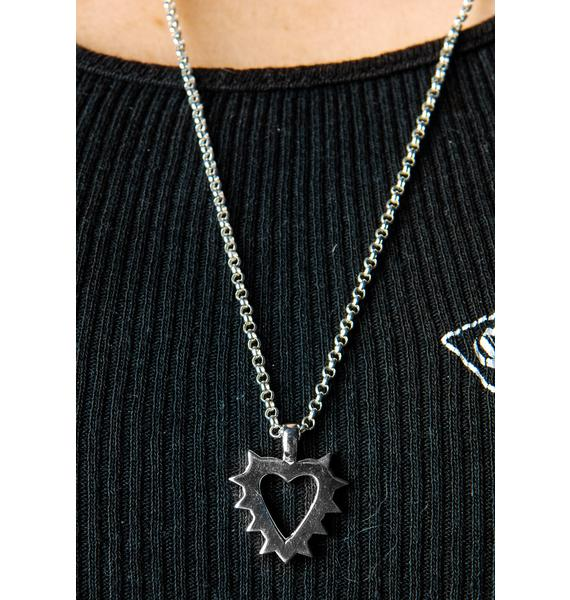 Stolen Girlfriends Club Spike Pendant