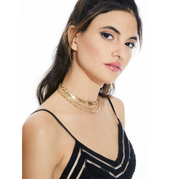 Devoted Tiered Chain Necklace