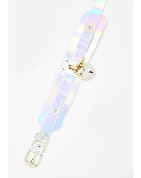 Celestial Secret Heart Choker