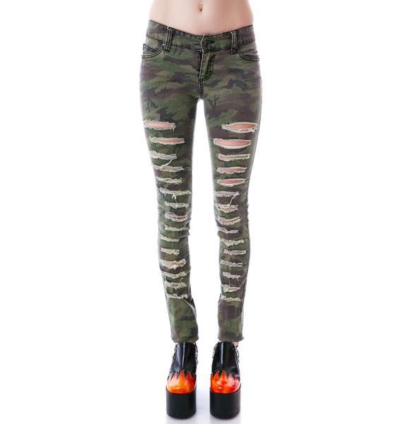 Tripp NYC Slasher Camo Jeans