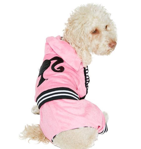 Barbie Girl Tracksuit Dog Costume