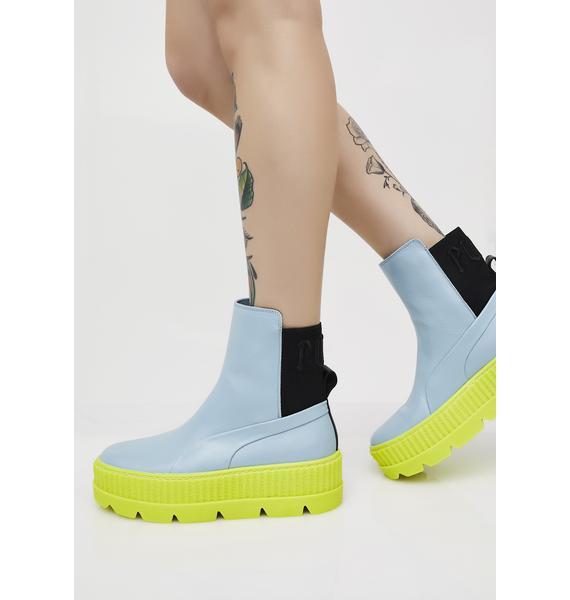 PUMA Neon FENTY PUMA By Rihanna Chelsea Sneaker Boots