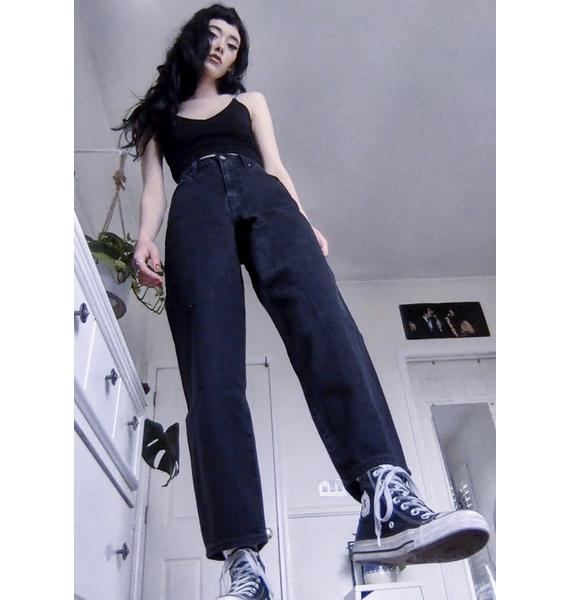 Levis Black Book Balloon Leg Denim Jeans