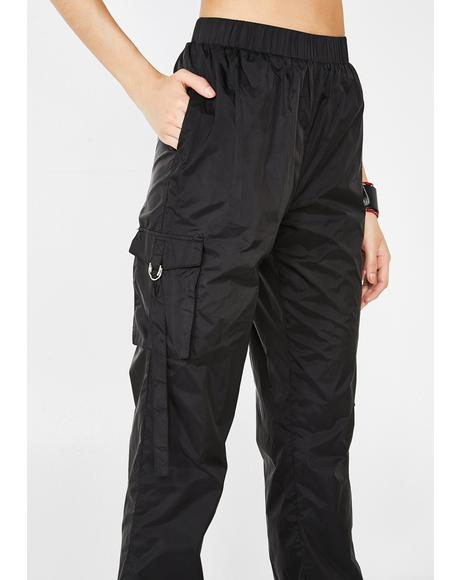 Dark Radioactive Flair Pant Set