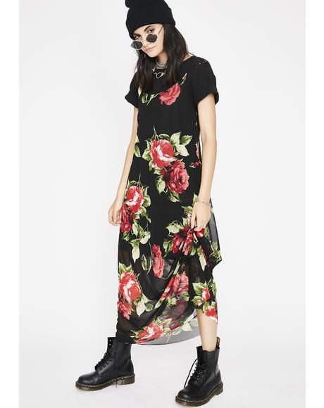 Rose Garden Maxi Dress