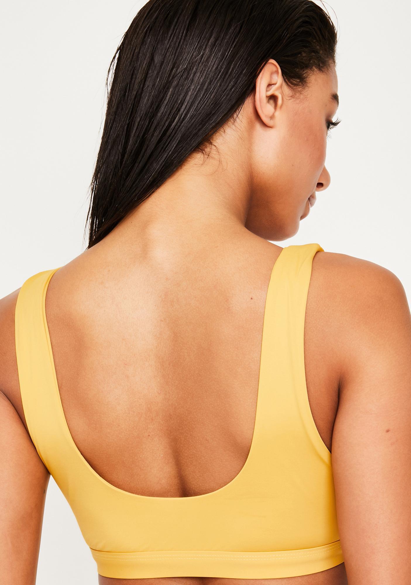 Dippin' Daisy's Honey Seamless Sports Bra Bikini Top