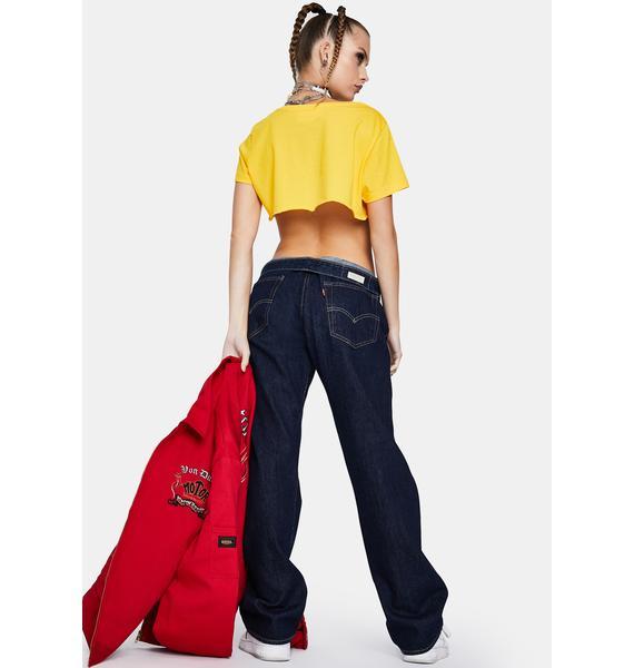 Levis Onewash 501 Denim Jeans
