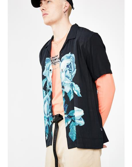La Fleur Short Sleeve Woven Shirt