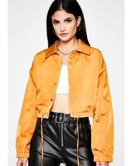 Where U Goin' Cropped Jacket