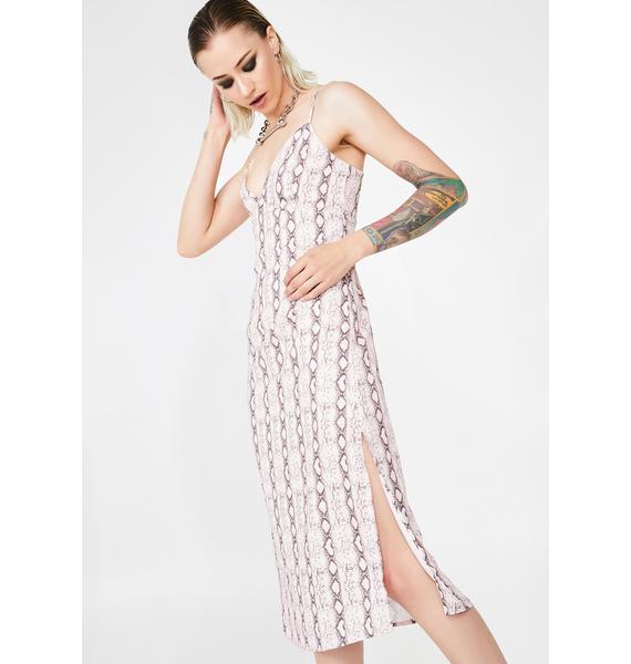 Snake Bitez Midi Dress