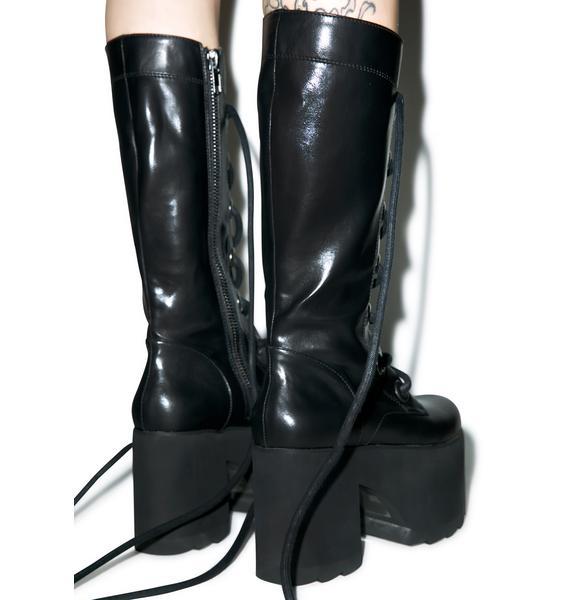Y.R.U. Forest Platform Boots