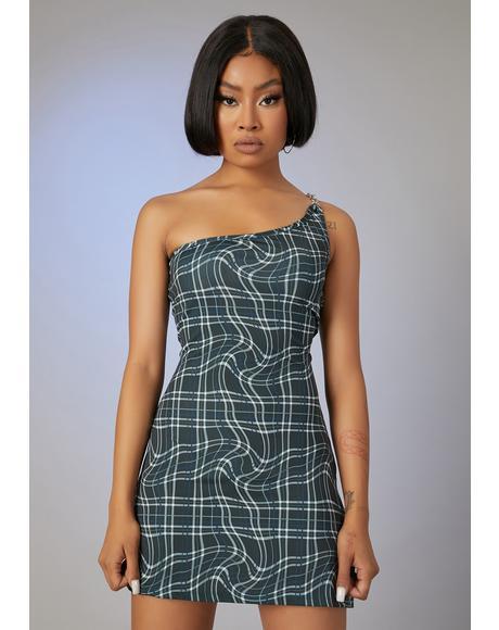 Never The Same Plaid Mini Dress