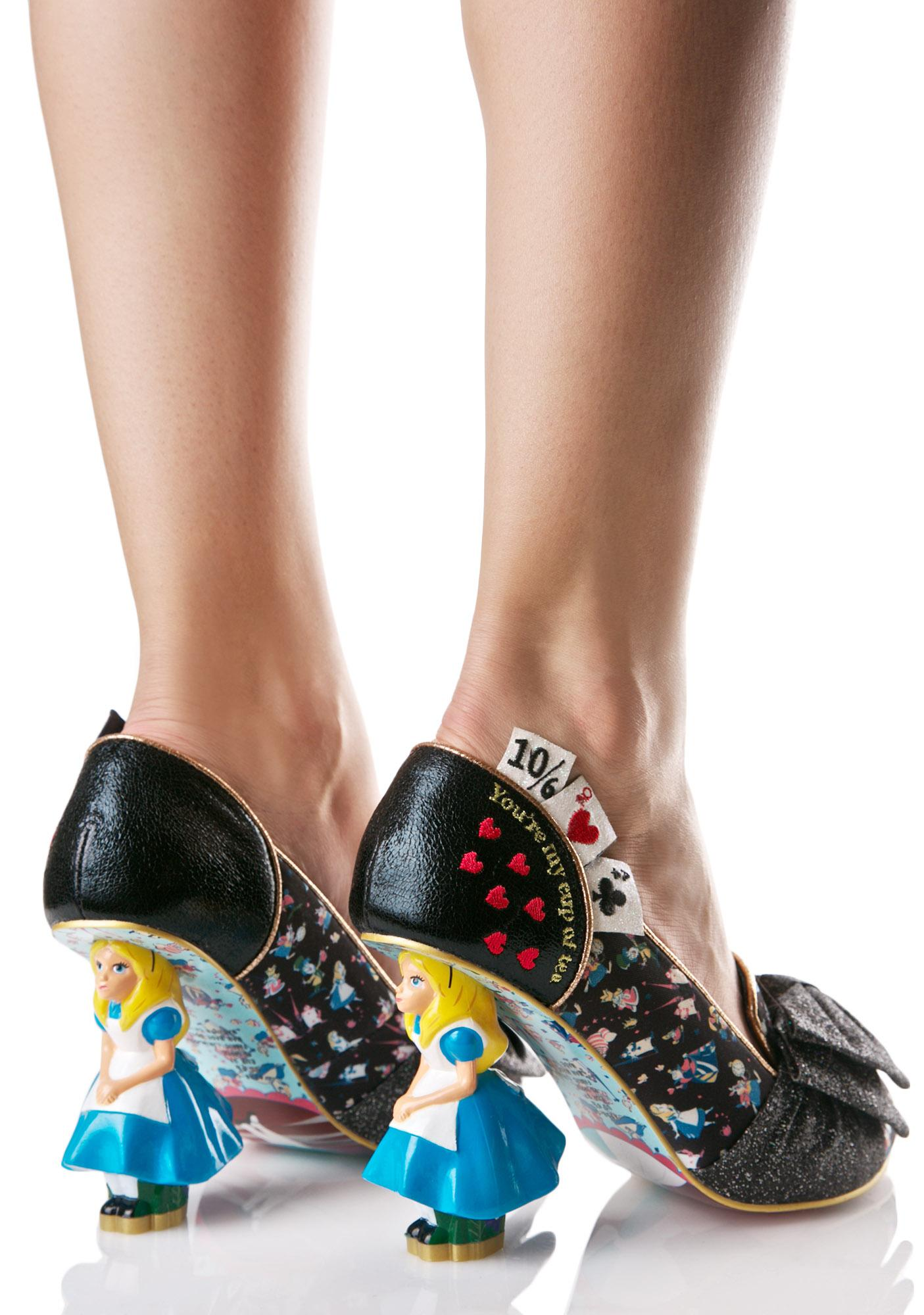 Irregular Choice Wonderland This Way Heels