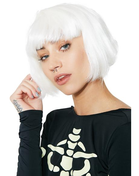 Gettin' Lit Glow-In-The-Dark Bob Wig