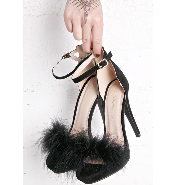 Tickler Fluffy Heels