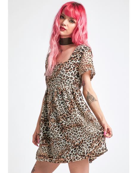 Fairly Freaksome Babydoll Dress