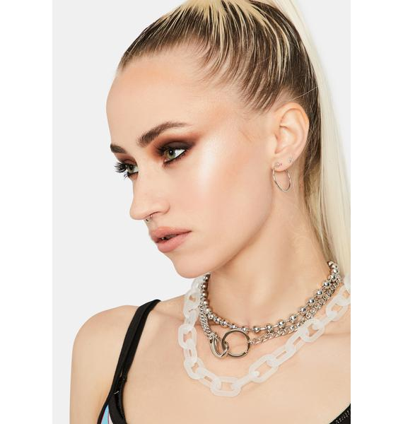 Atomic Babe Chain Necklace Set