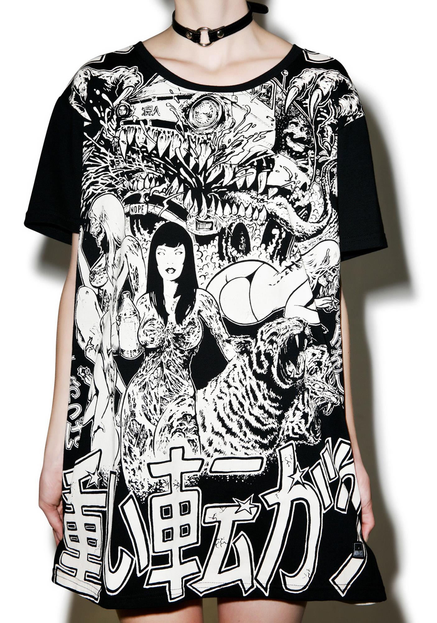 Iron Fist Shinjuku Baggy Skate Tee
