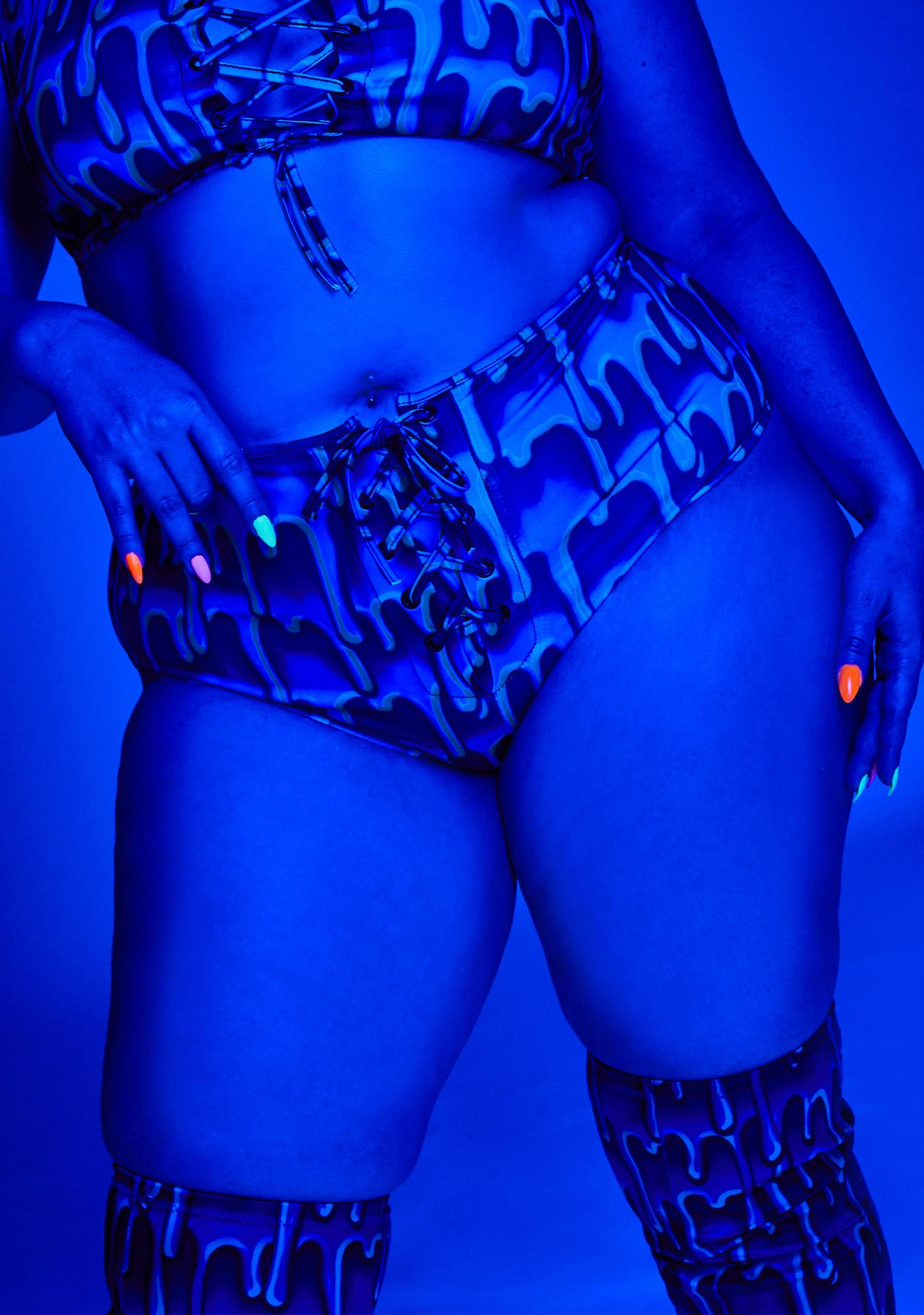 Club Exx So Ooey Gooey Lace-Up Bottoms
