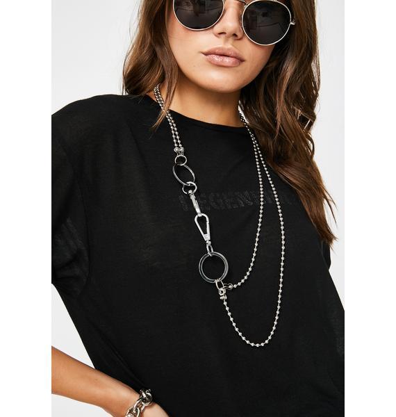 So O-ver U Chain Necklace