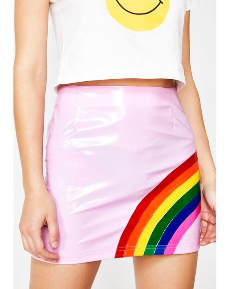 Baby Rainbow Magic Mini Skirt
