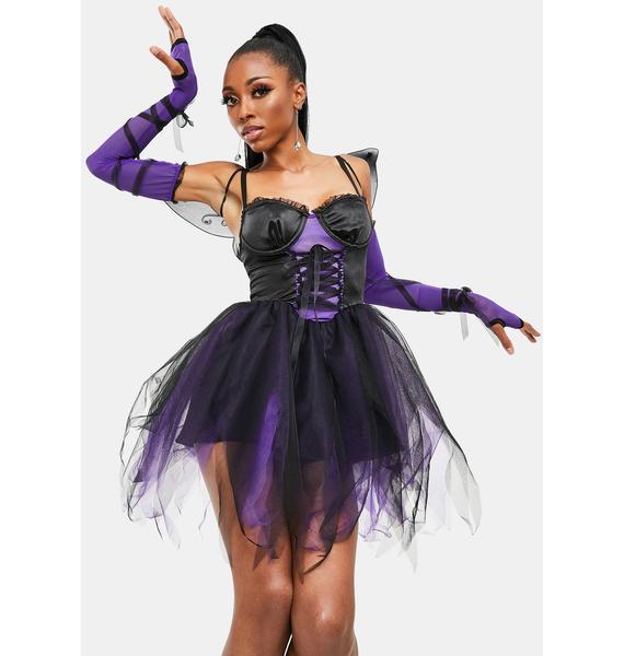 Dolls Kill Dark Magic Fairy Costume