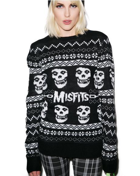 Merry Misfits Sweater