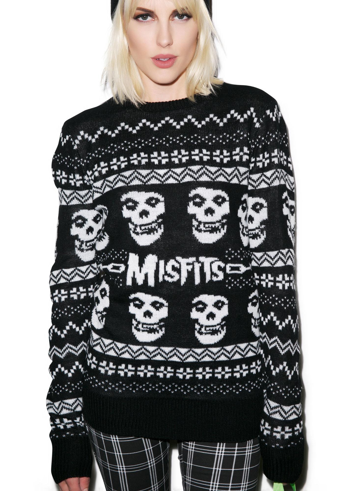iron fist merry misfits sweater - Misfits Christmas Sweater